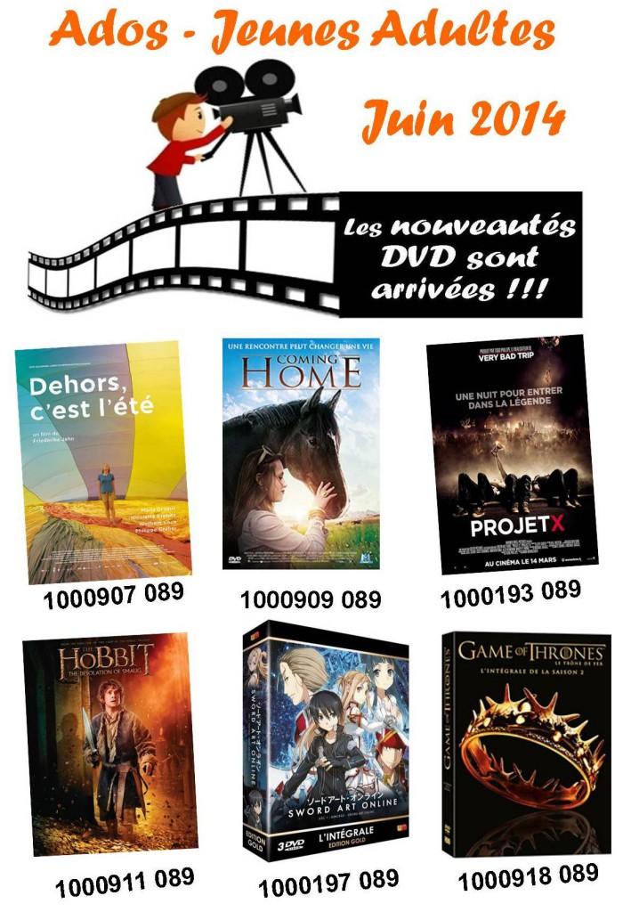 dvd ado juin