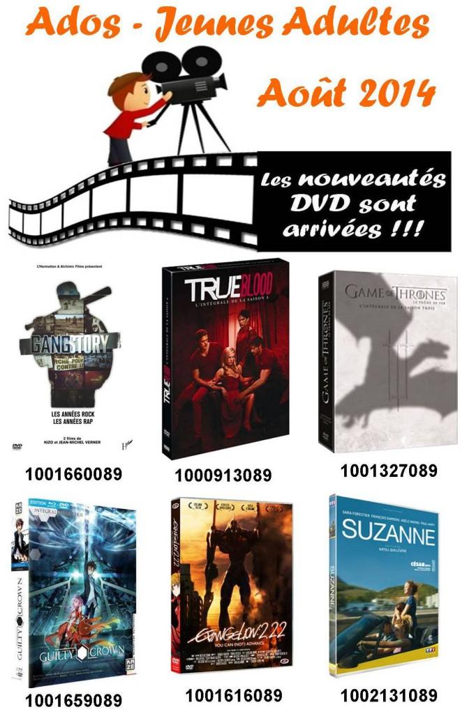 dvd ado aout
