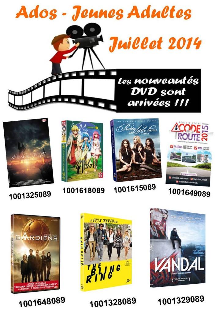 dvd ado juillet