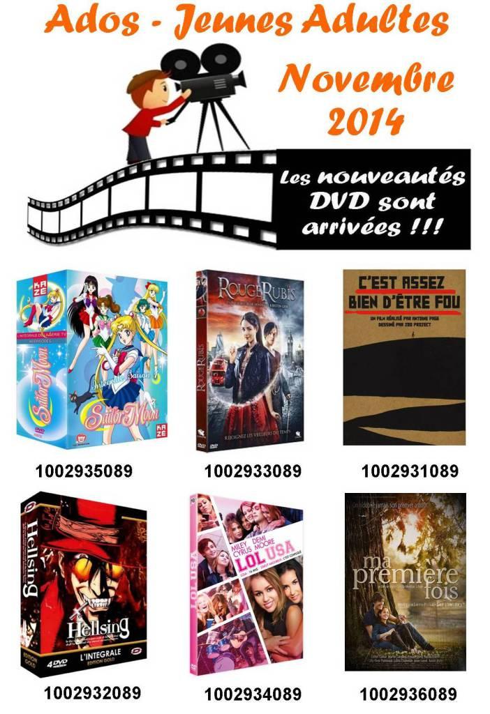 11 dvd ado novembre