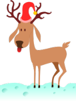 kablam_a_cartoon_reindeer