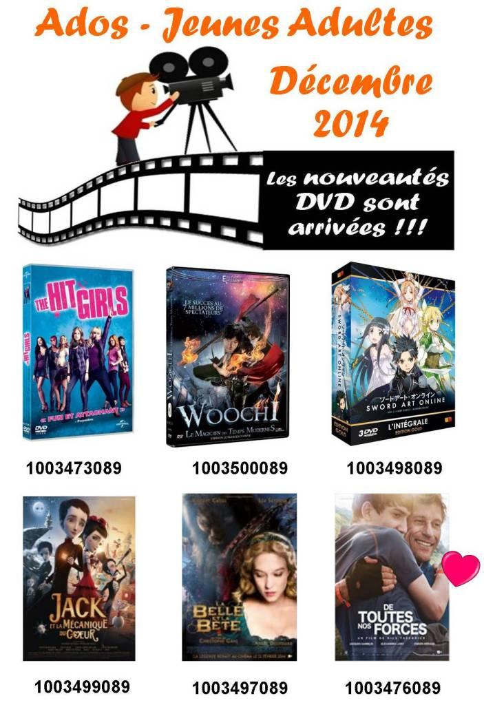 12 dvd ado decembre