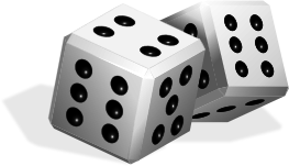 dice-white