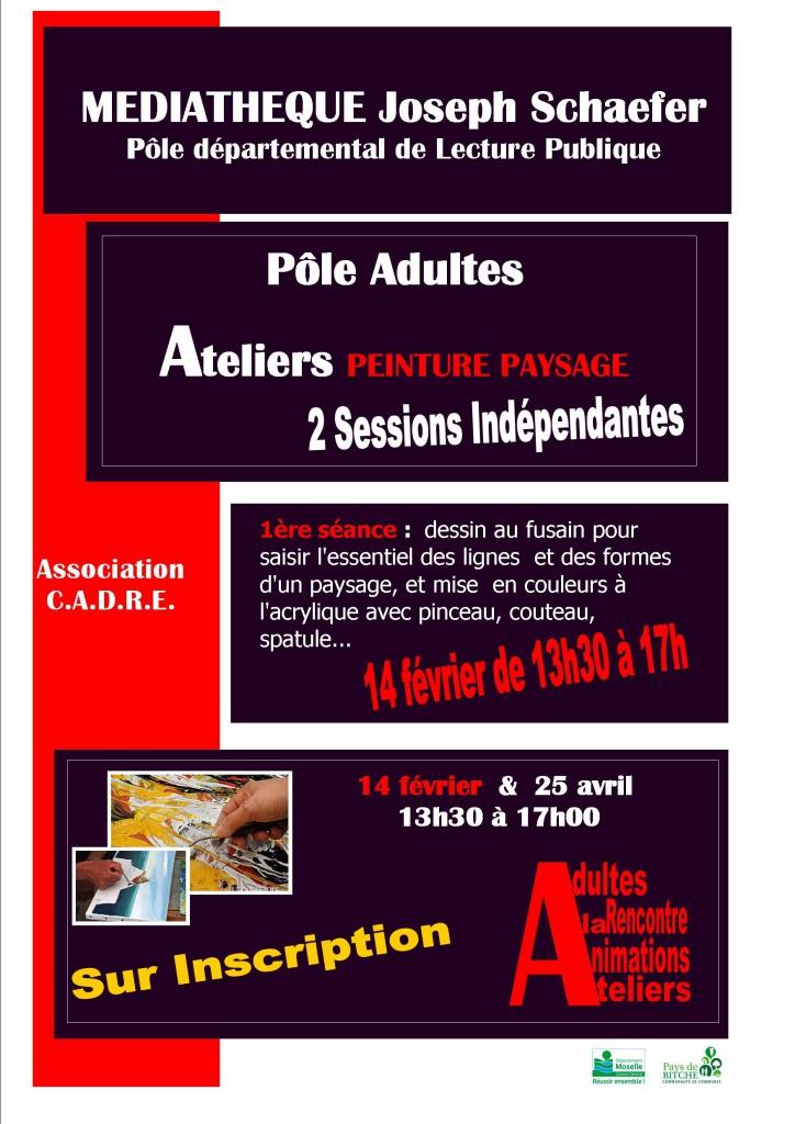 Affiche CadrePeintrueA3