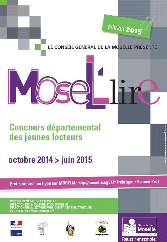 Affiche Mosel'lire