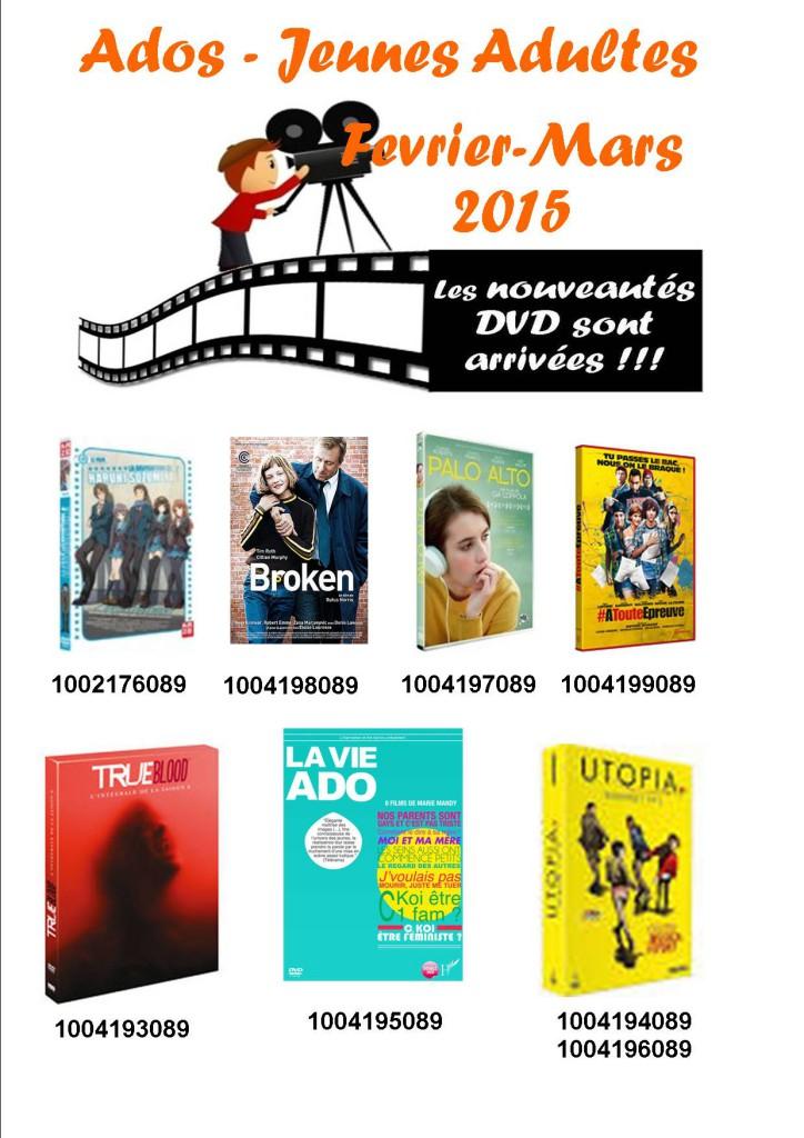 dvd adofevrier 2015