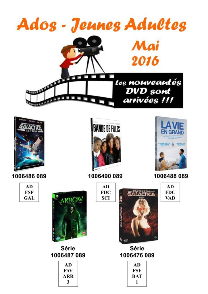 dvd ados 5 mai 2016