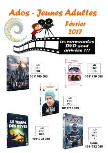 dvd ados 2 février 2017
