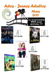 dvd ados 3 mars 2017